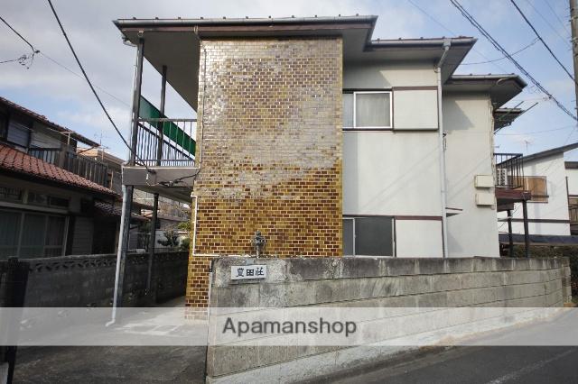 東京都日野市、日野駅徒歩27分の築45年 2階建の賃貸アパート