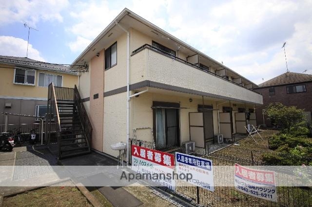 東京都八王子市、八王子駅西東京バスバス28分下犬目下車後徒歩2分の築13年 2階建の賃貸アパート