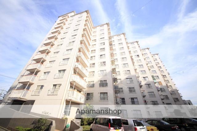 東京都八王子市、八王子駅徒歩30分の築46年 12階建の賃貸マンション