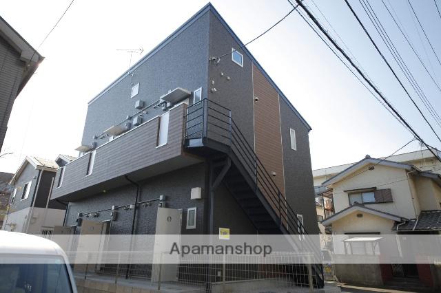 東京都日野市、日野駅徒歩12分の新築 2階建の賃貸アパート