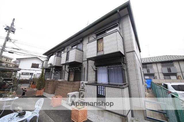 東京都八王子市、八王子駅バス20分神社前下車後徒歩5分の築13年 2階建の賃貸アパート