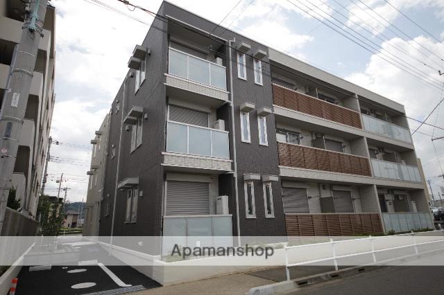 東京都日野市、豊田駅徒歩14分の新築 3階建の賃貸アパート