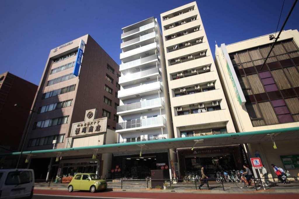 東京都八王子市、八王子駅徒歩9分の新築 10階建の賃貸マンション
