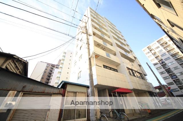 東京都八王子市、八王子駅西東京バスバス11分追分下車後徒歩6分の築30年 9階建の賃貸マンション