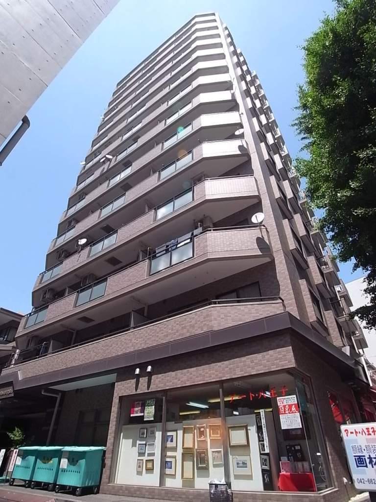 東京都八王子市、八王子駅京王バスバス13分千人町一丁目下車後徒歩1分の築23年 14階建の賃貸マンション