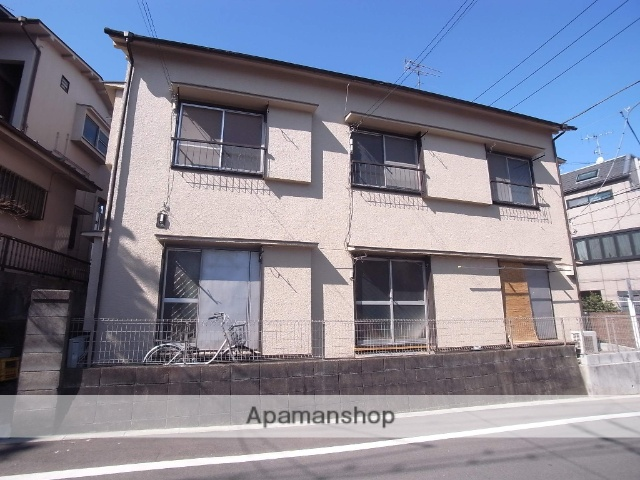 東京都八王子市、八王子駅徒歩22分の築45年 2階建の賃貸アパート