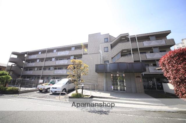 東京都八王子市、西八王子駅徒歩6分の築21年 4階建の賃貸マンション