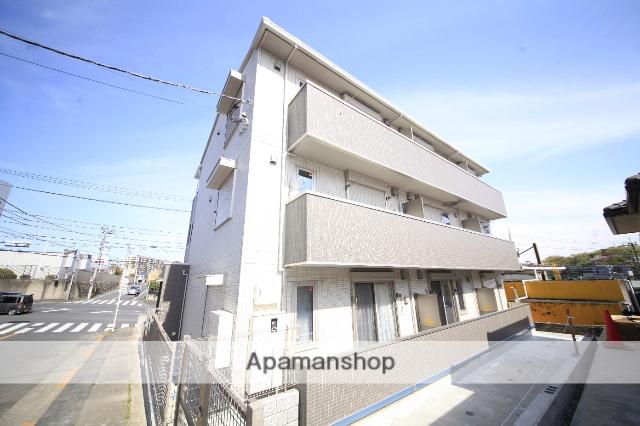 東京都八王子市、めじろ台駅徒歩34分の築1年 3階建の賃貸アパート