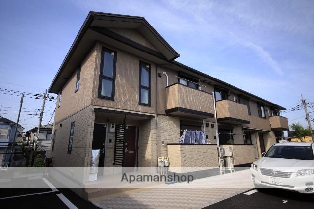 東京都八王子市、めじろ台駅徒歩32分の新築 2階建の賃貸アパート