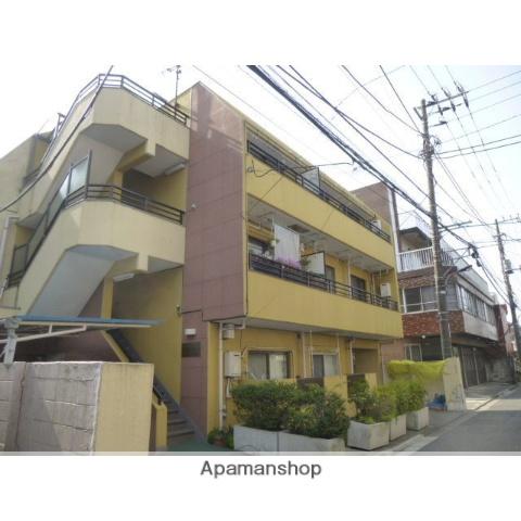 東京都北区、上中里駅徒歩10分の築24年 3階建の賃貸マンション