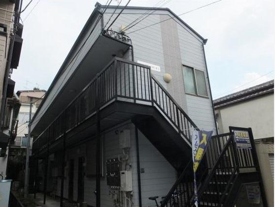 東京都板橋区、本蓮沼駅徒歩19分の築13年 2階建の賃貸アパート
