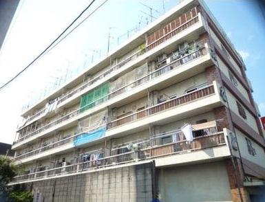 東京都板橋区、ときわ台駅徒歩15分の築42年 5階建の賃貸マンション