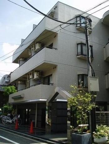 東京都板橋区、大山駅徒歩10分の築27年 4階建の賃貸マンション