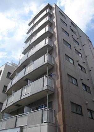 東京都板橋区、下赤塚駅徒歩8分の築18年 8階建の賃貸マンション