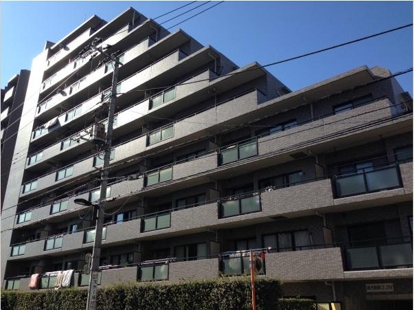 東京都豊島区、板橋駅徒歩7分の築20年 10階建の賃貸マンション