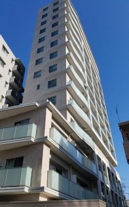 東京都北区、駒込駅徒歩6分の築3年 14階建の賃貸マンション