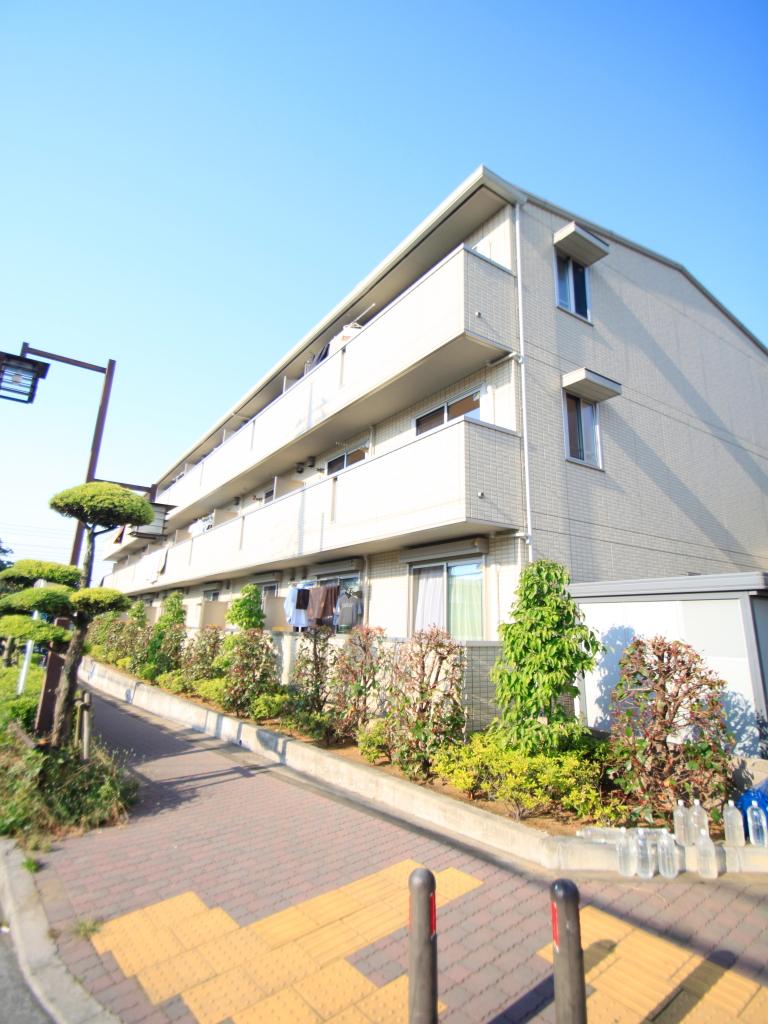 東京都板橋区、東武練馬駅徒歩19分の築5年 3階建の賃貸マンション