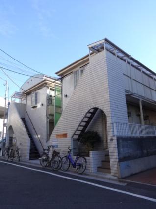 東京都板橋区、成増駅徒歩22分の築32年 2階建の賃貸アパート