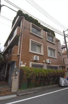 東京都板橋区、下板橋駅徒歩13分の築38年 3階建の賃貸マンション