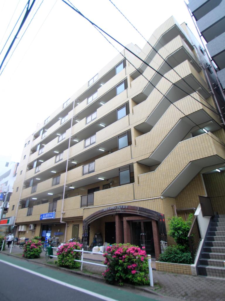 東京都板橋区、西台駅徒歩15分の築26年 7階建の賃貸マンション