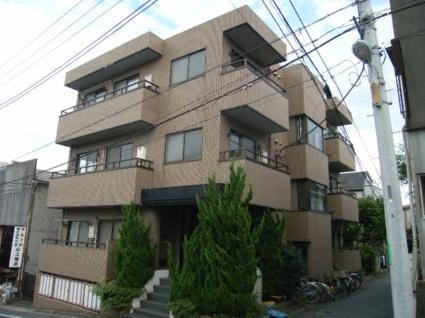 東京都板橋区、上板橋駅徒歩20分の築25年 3階建の賃貸マンション