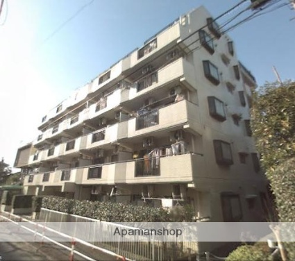 東京都板橋区、中板橋駅徒歩12分の築30年 6階建の賃貸マンション