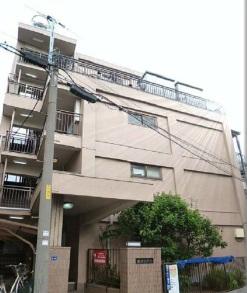 東京都板橋区、志村坂上駅徒歩10分の築33年 5階建の賃貸マンション