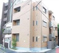 東京都北区、駒込駅徒歩4分の築2年 3階建の賃貸アパート