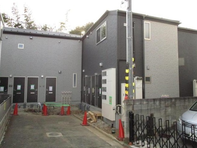 東京都板橋区、蓮根駅徒歩16分の築1年 2階建の賃貸アパート