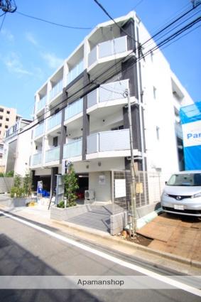 東京都豊島区、巣鴨駅徒歩9分の新築 4階建の賃貸マンション