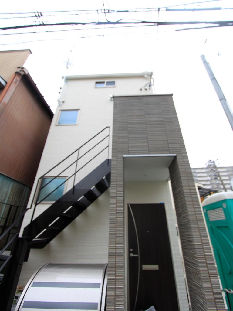 東京都板橋区、中板橋駅徒歩12分の新築 2階建の賃貸アパート