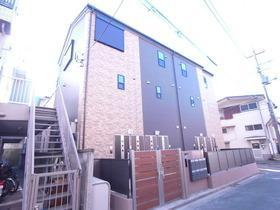 東京都板橋区、上板橋駅徒歩7分の新築 3階建の賃貸アパート