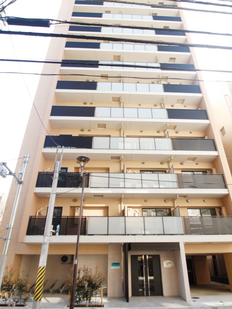 東京都台東区、浅草橋駅徒歩5分の新築 14階建の賃貸マンション