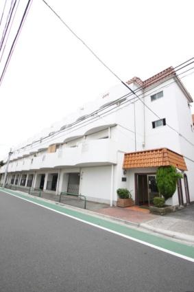 東京都板橋区、志村三丁目駅徒歩9分の築37年 4階建の賃貸マンション