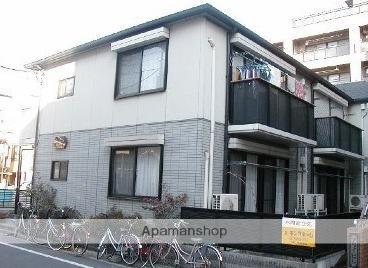東京都板橋区、蓮根駅徒歩5分の築22年 2階建の賃貸アパート
