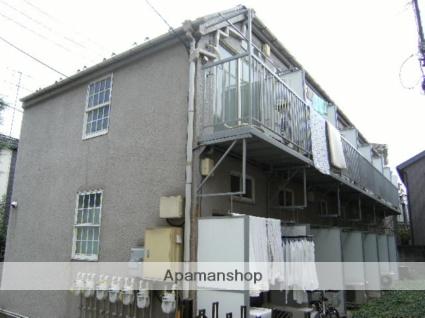 東京都板橋区、中板橋駅徒歩11分の築26年 2階建の賃貸アパート