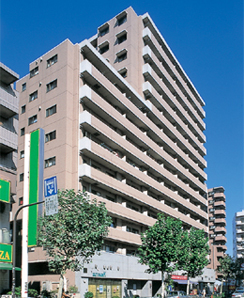 東京都豊島区、北池袋駅徒歩9分の築20年 14階建の賃貸マンション