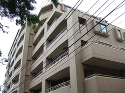 東京都板橋区、本蓮沼駅徒歩15分の築15年 7階建の賃貸マンション