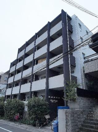 東京都板橋区、ときわ台駅徒歩15分の築9年 5階建の賃貸マンション