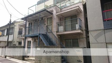 東京都中野区、落合駅徒歩1分の築36年 2階建の賃貸アパート