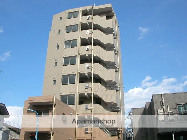 東京都新宿区、若松河田駅徒歩9分の築10年 9階建の賃貸マンション