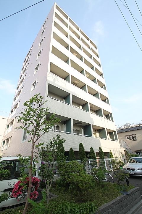 東京都新宿区、早稲田駅徒歩6分の築14年 11階建の賃貸マンション