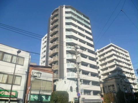 東京都新宿区、若松河田駅徒歩11分の築7年 13階建の賃貸マンション