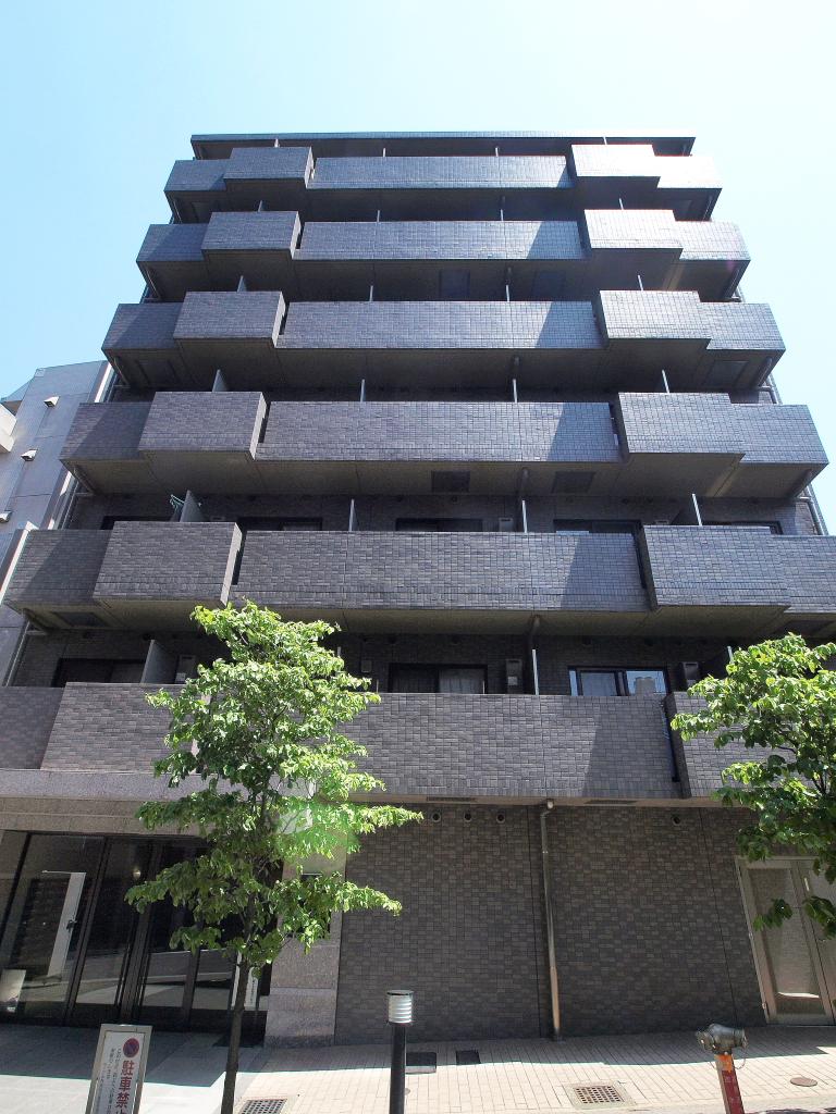 東京都新宿区、神楽坂駅徒歩2分の築13年 7階建の賃貸マンション