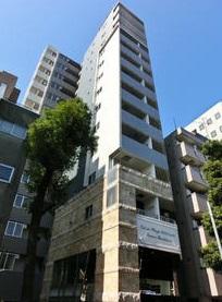 東京都新宿区、後楽園駅徒歩12分の築4年 14階建の賃貸マンション