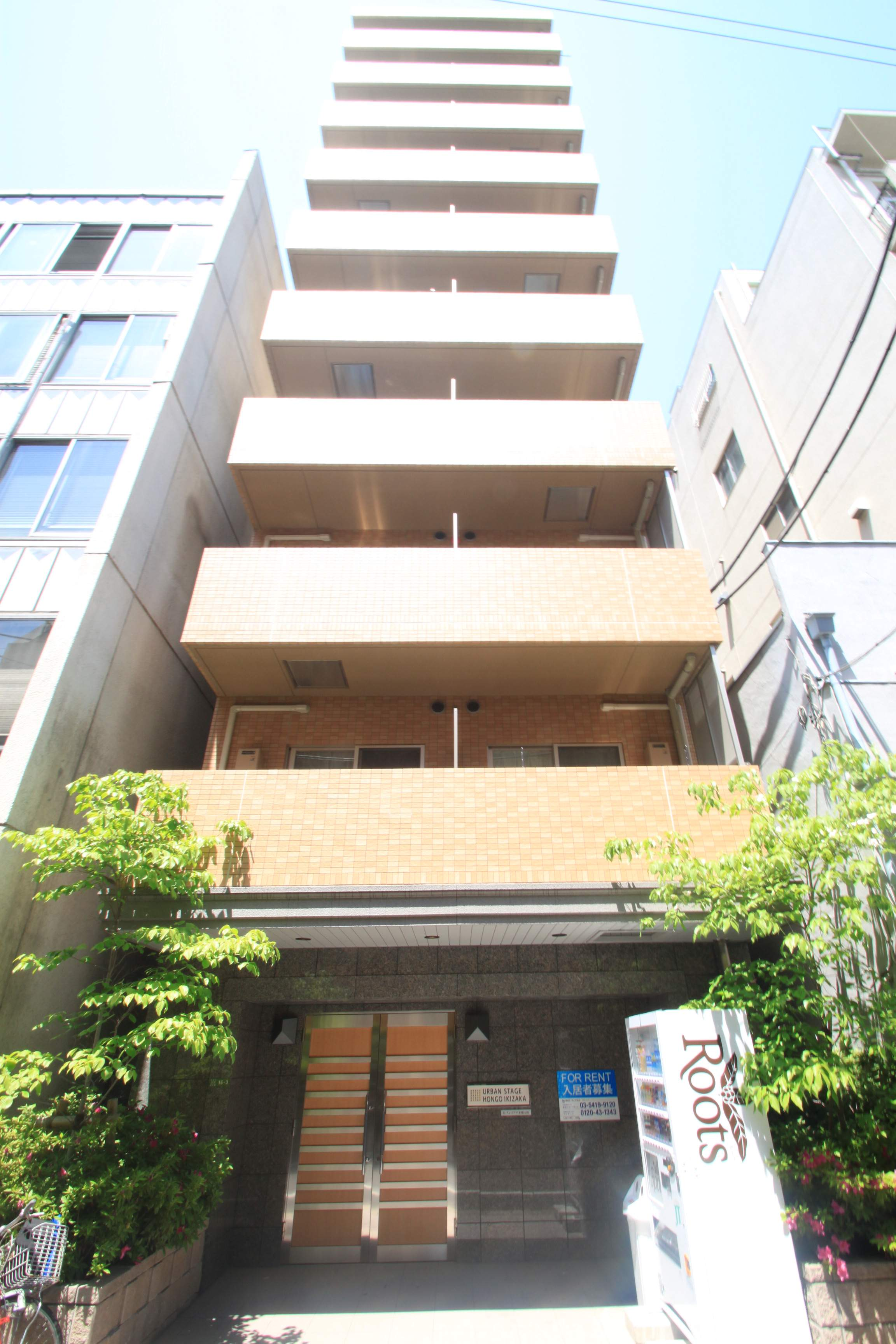 東京都文京区、御茶ノ水駅徒歩8分の築10年 10階建の賃貸マンション