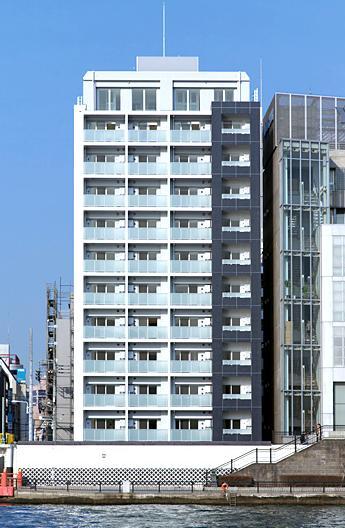 東京都台東区、両国駅徒歩13分の築8年 12階建の賃貸マンション