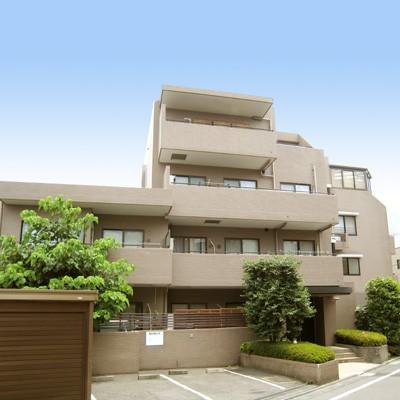 東京都文京区、本駒込駅徒歩7分の築27年 4階建の賃貸マンション