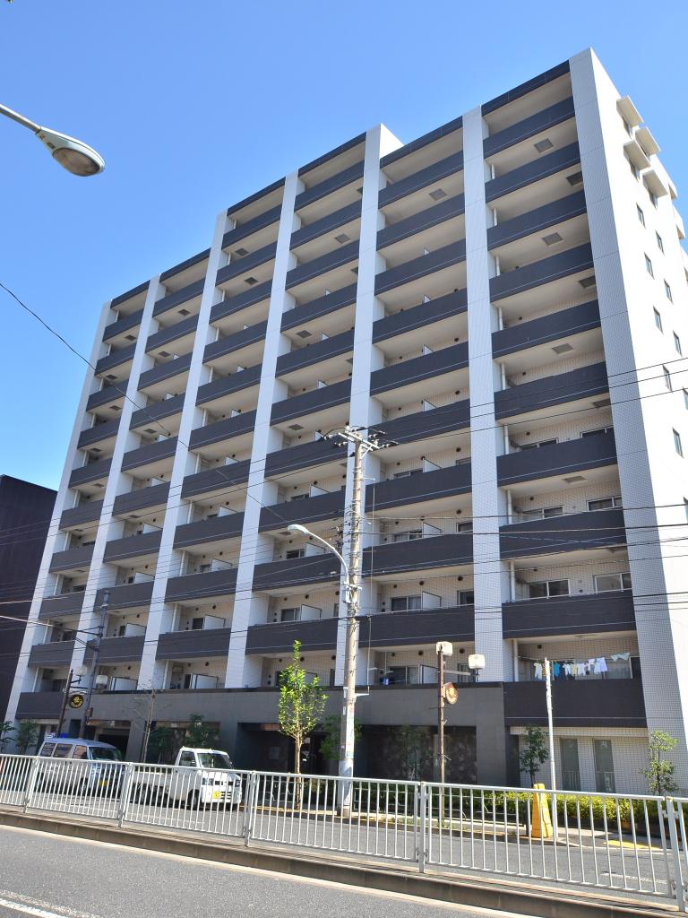 東京都墨田区、両国駅徒歩15分の築8年 12階建の賃貸マンション