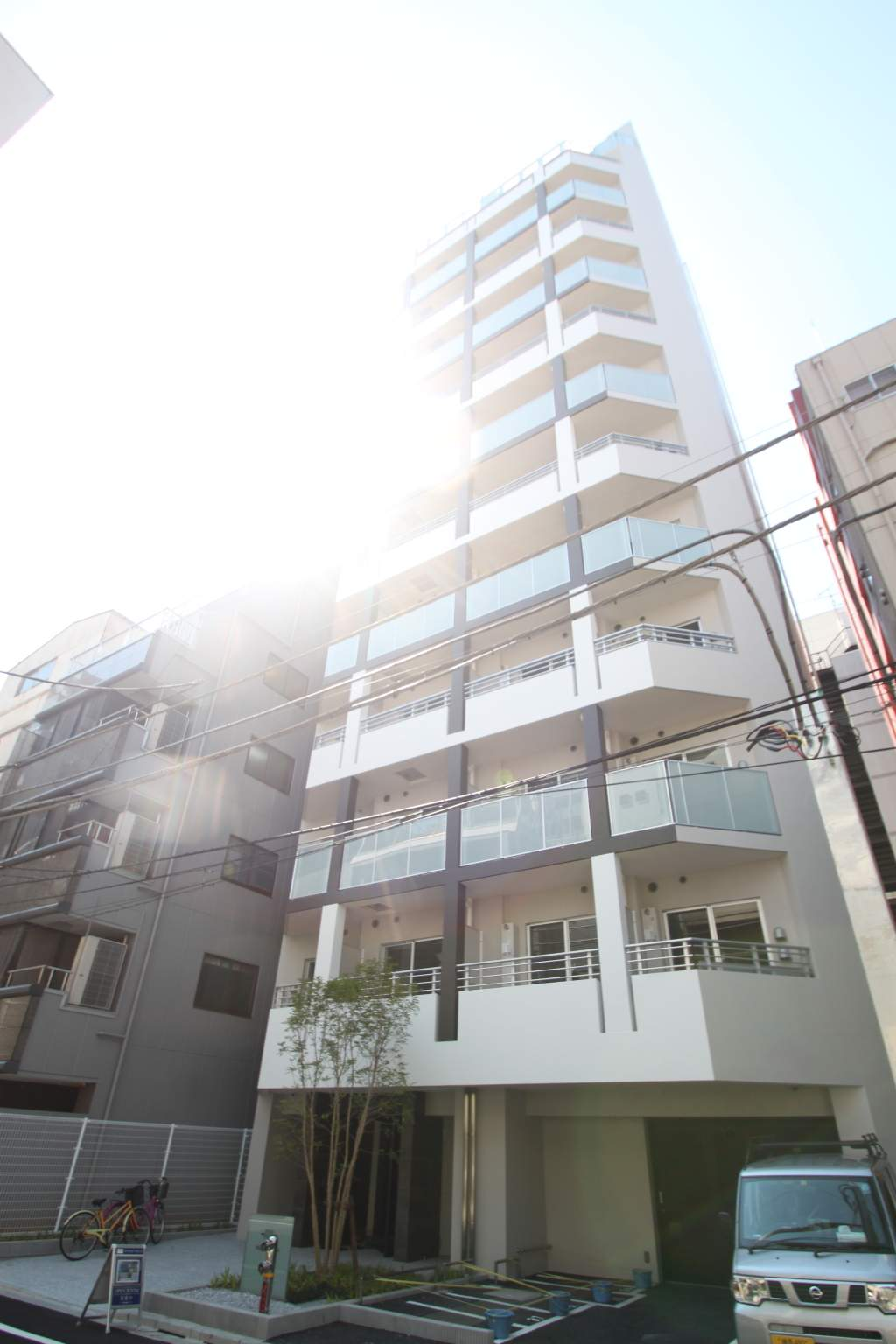 東京都千代田区、馬喰町駅徒歩3分の築1年 13階建の賃貸マンション